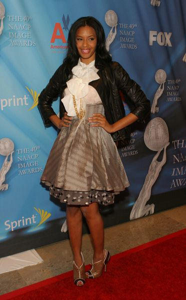 Vanessa Simmons at 40th Annual NAACP Image Awards Pre-Show Gala at Creative Artists Agency, Los Angeles CA, USA