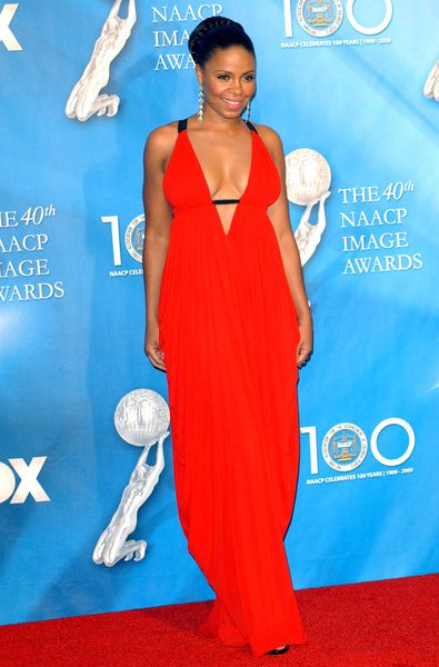 Sanaa Lathan at 40th NAACP Image Awards - The Shrine Auditorium, Los Angeles, CA. USA