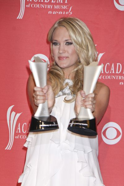 Carrie Underwood at 44th Annual Academy of Country Music Awards - Press Room - MGM Grand Garden Arena, Las Vegas, NV. USA
