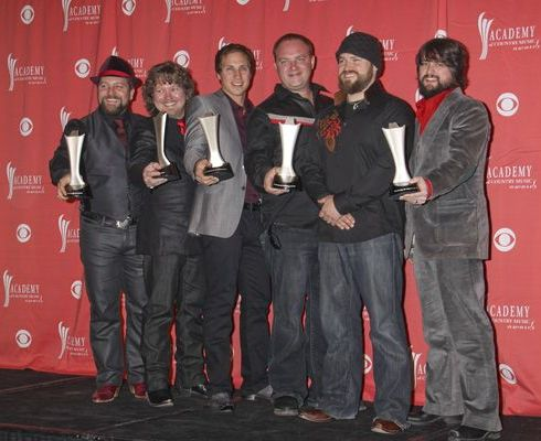 Zac Brown Band at 44th Annual Academy of Country Music Awards - Press Room - MGM Grand Garden Arena, Las Vegas, NV. USA