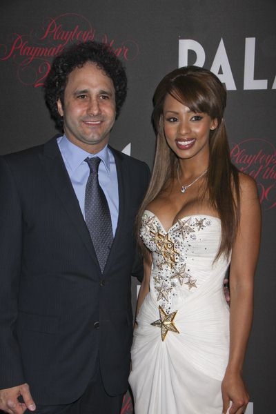 George Maloof, Ida Ljungqvist at 50th Annual Playboy Playmate of the Year Announcement and Celebration - Palms Hotel and Casino, Las Vegas, NV, USA