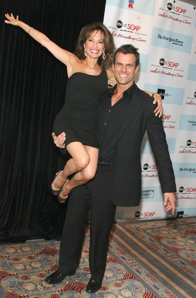 Susan Lucci, Cameron Mathison at 5th Annual ABC and SOAPnet Salute Broadway Cares/Equity Fights AIDS Benefit - Marriott Marquis, 1535 Broadway, New York City, NY, USA