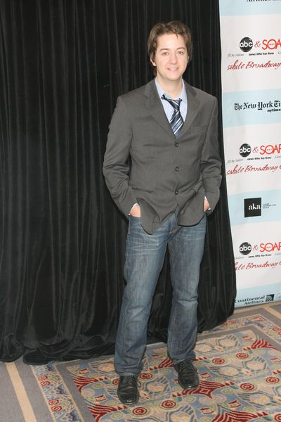 Bradford Anderson at 5th Annual ABC and SOAPnet Salute Broadway Cares/Equity Fights AIDS Benefit - Marriott Marquis, 1535 Broadway, New York City, NY, USA