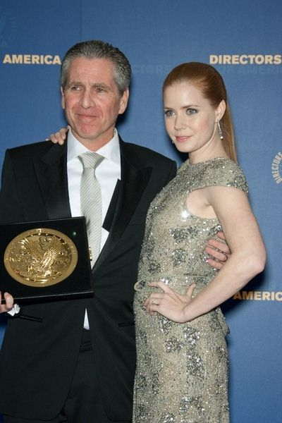 Dan Attias, Amy Adams at 61st Annual DGA Awards at Hyatt Regency Century Plaza, Century City, CA, USA