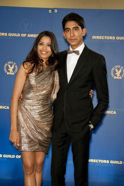 Freida Pinto, Dev Patel at 61st Annual DGA Awards at Hyatt Regency Century Plaza, Century City, CA, USA