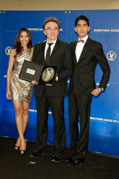Freida Pinto, Danny Boyle, Dev Patel at 61st Annual DGA Awards at Hyatt Regency Century Plaza, Century City, CA, USA