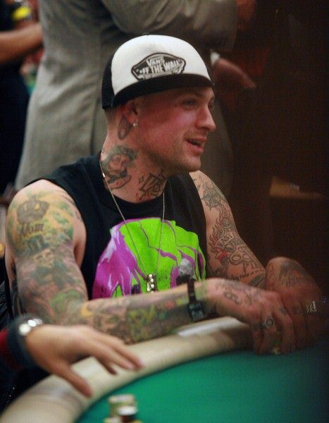Benji Madden at 7th Annual World Poker Tour Invitational at The Commerce Casino, Los Angeles, CA, USA
