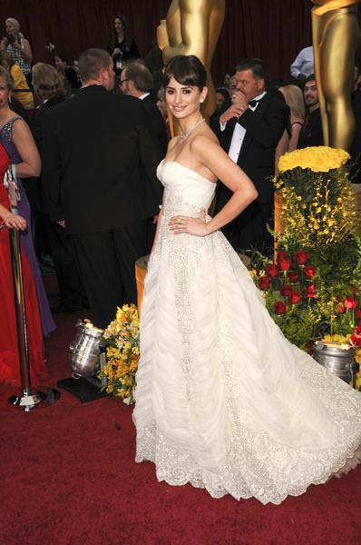 Penelope Cruz at 81st Annual Academy Awards Oscars - Arrivals at The Kodak Theatre, Hollywood, CA, USA