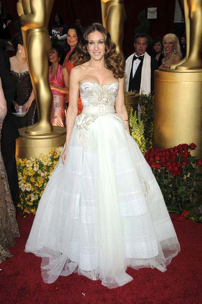 Sarah Jessica Parker at 81st Annual Academy Awards Oscars - Arrivals at The Kodak Theatre, Hollywood, CA, USA