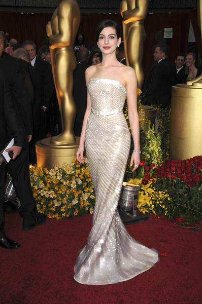 Anne Hathaway at 81st Annual Academy Awards Oscars - Arrivals at The Kodak Theatre, Hollywood, CA, USA