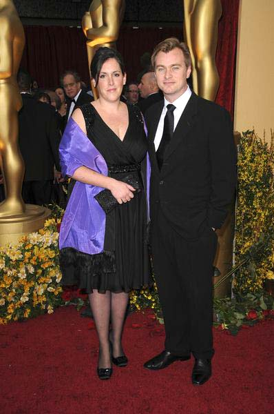 Christopher Nolan, Emma Thomas (wife) at 81st Annual Academy Awards Oscars - Arrivals at The Kodak Theatre, Hollywood, CA, USA