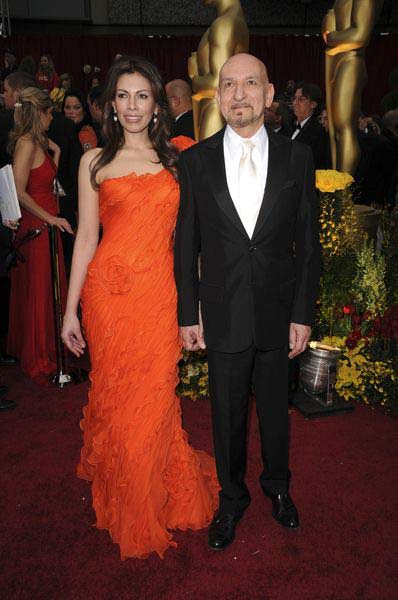 Daniela Lavender, Ben Kingsley at 81st Annual Academy Awards Oscars - Arrivals at The Kodak Theatre, Hollywood, CA, USA