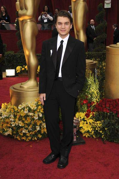 Emile Hirsch at 81st Annual Academy Awards Oscars - Arrivals at The Kodak Theatre, Hollywood, CA, USA
