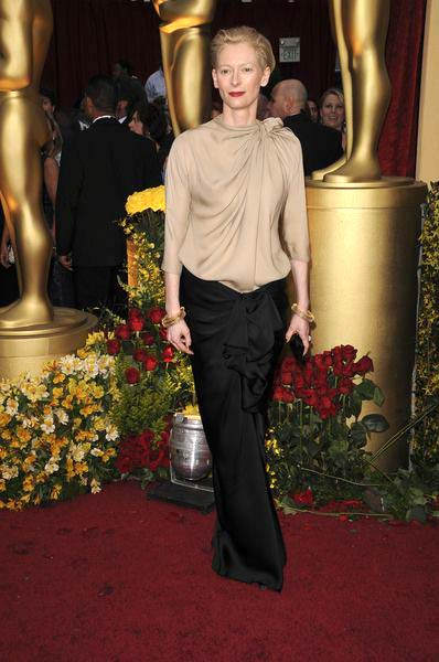 Tilda Swinton at 81st Annual Academy Awards Oscars - Arrivals at The Kodak Theatre, Hollywood, CA, USA