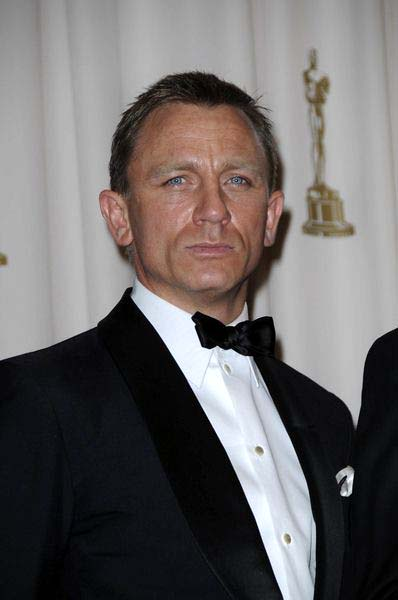Daniel Craig at 81st Annual Academy Awards Oscars - Press Room at The Kodak Theatre, Hollywood, CA, USA