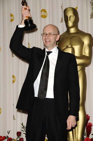 Chris Dickens (Achievement in Film Editing - Slumdog Millionaire) at 81st Annual Academy Awards Oscars - Press Room at The Kodak Theatre, Hollywood, CA, USA