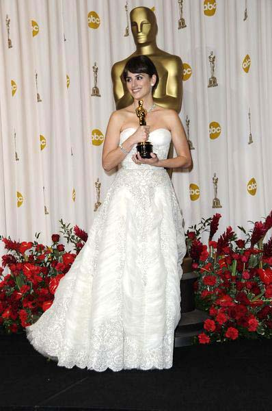 Penelope Cruz at 81st Annual Academy Awards Oscars - Press Room at The Kodak Theatre, Hollywood, CA, USA