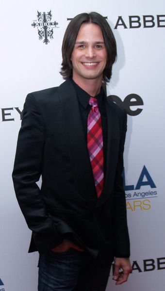 Emerson Collins  at 8th Annual 'The Envelope Please' APLA Oscar Viewing Party - The Abbey, West Hollywood, CA, USA