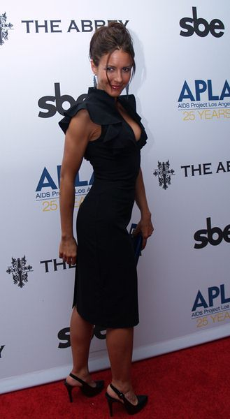 Michelle Clunie at 8th Annual 'The Envelope Please' APLA Oscar Viewing Party - The Abbey, West Hollywood, CA, USA