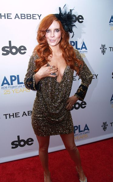 Phoebe at 8th Annual 'The Envelope Please' APLA Oscar Viewing Party - The Abbey, West Hollywood, CA, USA