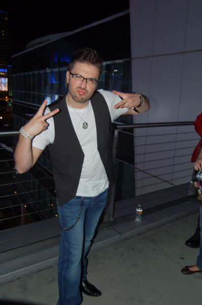 Danny Gokey at 'American Idol Live' Show at the Staples Center in Los Angeles - Staples Center, Los Angeles, CA, USA