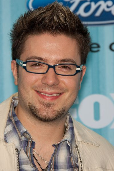 Danny Gokey at American Idol Top 13 Party - Area, Los Angeles, CA, USA