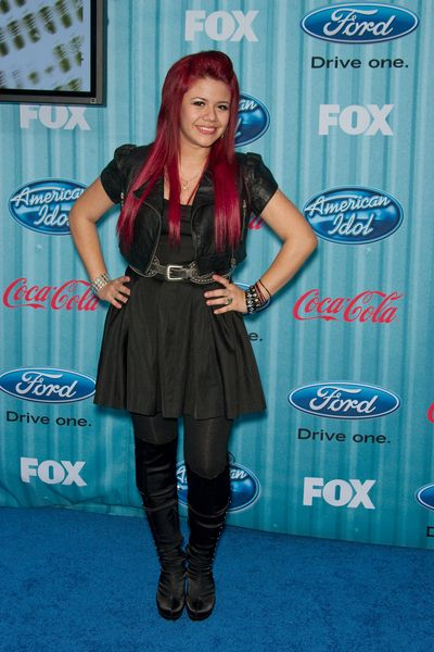 Allison Iraheta at American Idol Top 13 Party - Area, Los Angeles, CA, USA