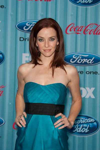 Annie Wersching at American Idol Top 13 Party - Area, Los Angeles, CA, USA