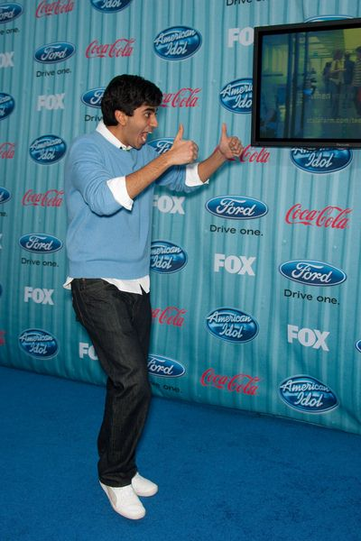 Anoop Desai at American Idol Top 13 Party - Area, Los Angeles, CA, USA