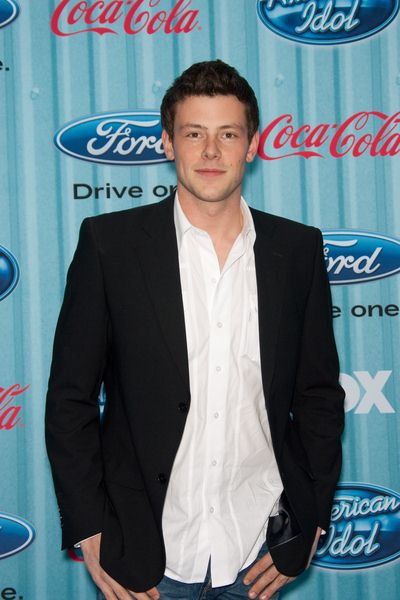 Cory Monteith at American Idol Top 13 Party - Area, Los Angeles, CA, USA