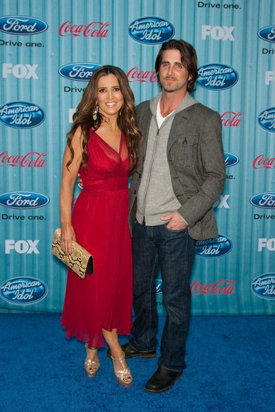 Jillian Reynolds, Grant Reynolds at American Idol Top 13 Party - Area, Los Angeles, CA, USA