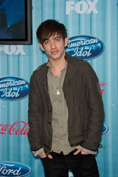 Kevin McHale at American Idol Top 13 Party - Area, Los Angeles, CA, USA
