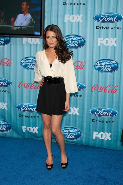 Lea Michele at American Idol Top 13 Party - Area, Los Angeles, CA, USA