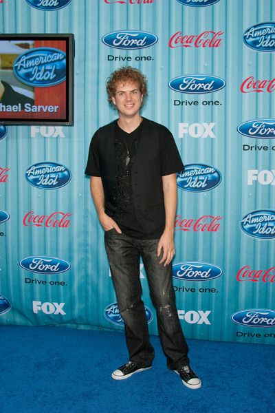 Scott MacIntyre at American Idol Top 13 Party - Area, Los Angeles, CA, USA