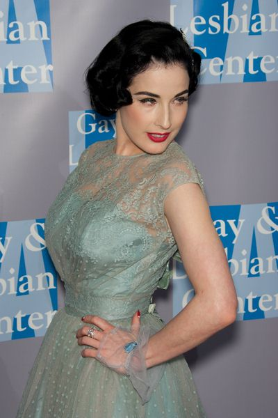 Dita Von Teese at An Evening with Women: Celebrating Art, Music and Equality - Beverly Hilton Hotel, Beverly Hills, CA, USA