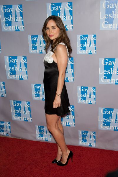 Eliza Dushku at An Evening with Women: Celebrating Art, Music and Equality - Beverly Hilton Hotel, Beverly Hills, CA, USA