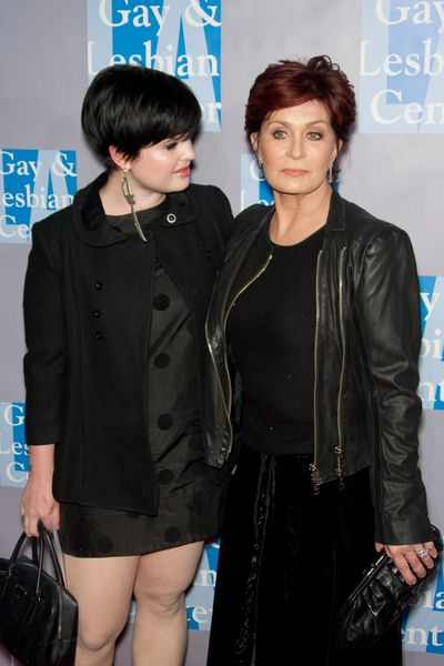 Kelly Osbourne, Sharon Osbourne at An Evening with Women: Celebrating Art, Music and Equality - Beverly Hilton Hotel, Beverly Hills, CA, USA