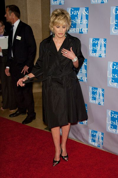 Sharon Stone at An Evening with Women: Celebrating Art, Music and Equality - Beverly Hilton Hotel, Beverly Hills, CA, USA