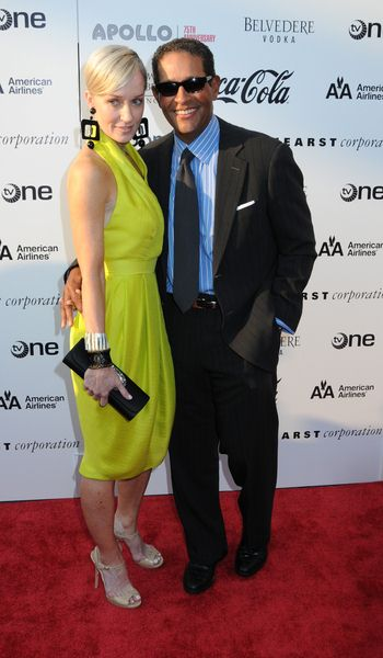 Hilary Gumbel, Bryant Gumbel at Apollo Theater 75th Anniversary Gala - Apollo Theater, New York City, NY, USA