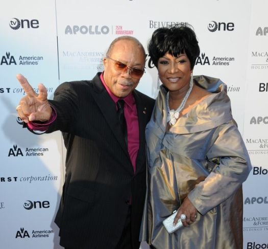 Quincy Jones, Patti LaBelle at Apollo Theater 75th Anniversary Gala - Apollo Theater, New York City, NY, USA