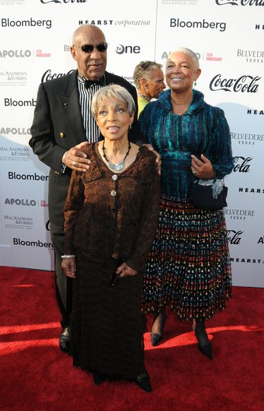 Bill Cosby, Camille Cosby, Ruby Dee at Apollo Theater 75th Anniversary Gala - Apollo Theater, New York City, NY, USA