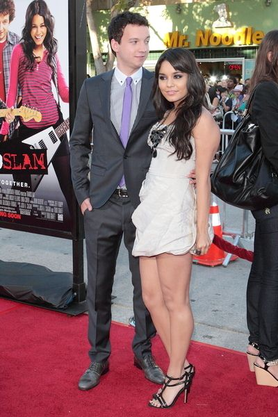 Gaelan Connell, Vanessa Hudgens at 'Bandslam' Los Angeles Premiere - Arrivals - Mann Village Theatre, Los Angeles, CA, USA