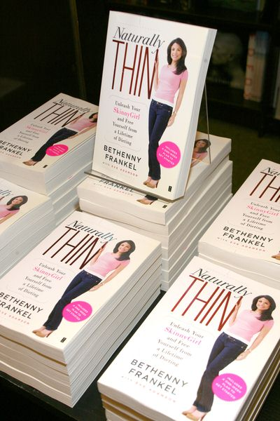 Naturally Thin Book at Bethenny Frankel Signs Copies of Her Book 'Naturally Thin' at Barnes and Noble Tribeca, 97 Warren Street, New York City, NY, USA