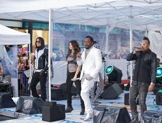 Black Eyed Peas (will.i.am, Fergie, Taboo, apl.de.ap) at Black Eyed Peas in Concert on NBC's 'Today Show' - Rockefeller Center, New York City, NY, USA