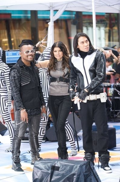 Black Eyed Peas (apl.de.ap, Fergie, Taboo) at Black Eyed Peas in Concert on NBC's 'Today Show' - Rockefeller Center, New York City, NY, USA