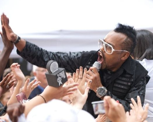 Black Eyed Peas (apl.de.ap) at Black Eyed Peas in Concert on NBC's 'Today Show' - Rockefeller Center, New York City, NY, USA