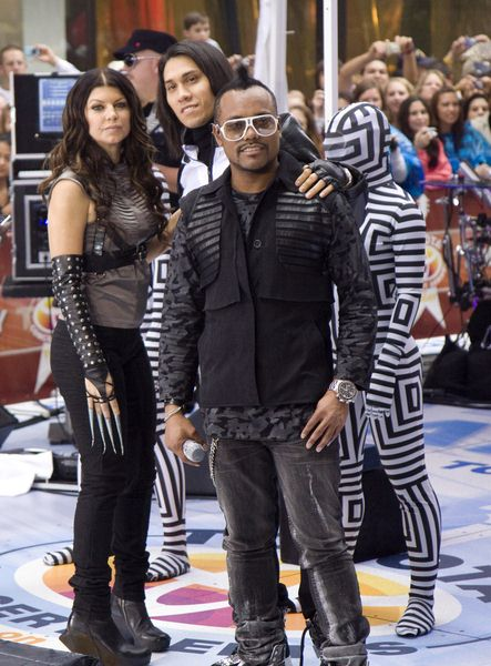 Black Eyed Peas (Fergie, Taboo, apl.de.ap) at Black Eyed Peas in Concert on NBC's 'Today Show' - Rockefeller Center, New York City, NY, USA