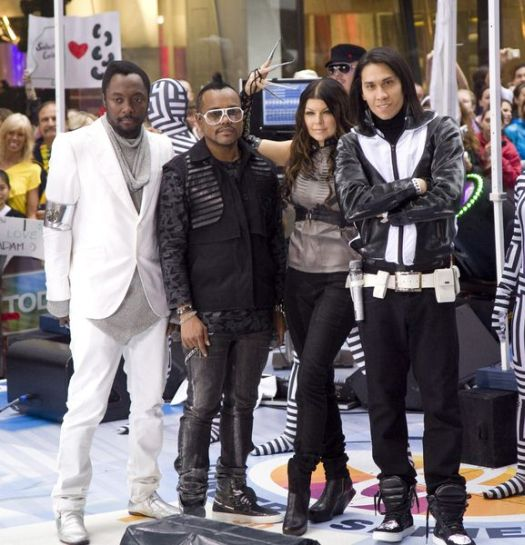 Black Eyed Peas (will.i.am, apl.de.ap, Fergie, Taboo) at Black Eyed Peas in Concert on NBC's 'Today Show' - Rockefeller Center, New York City, NY, USA