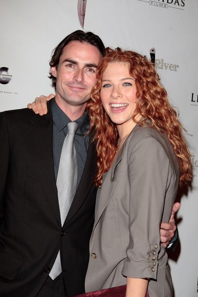 Ian Duncan, Rachelle Lefevre at 'Blood River' Hollywood Premiere - The Egyptian Theatre, Hollywood, CA, USA
