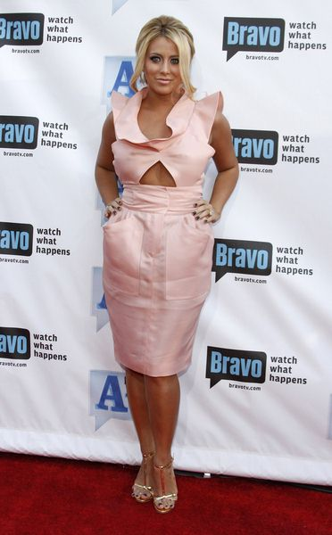 Aubrey O'Day at Bravo's 2nd Annual A-List Awards at Orpheum Theatre in Los Angeles, CA, USA